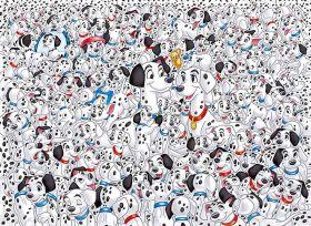 Puzzle 1000 Pezzi Clementoni Carica dei 101| Puzzle Disney - Immagine