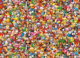 Puzzle 1000 Pezzi Clementoni Emoji Impossible| Puzzle Composizioni