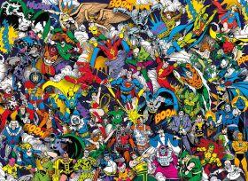 Puzzle 1000 Pezzi Clementoni DC Comics Impossible | Puzzle Supereroi