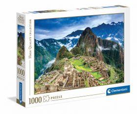 Puzzle 1000 Pezzi Clementoni Machu Picchu | Puzzle Paesaggi - Confezione