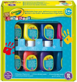 Colori a Dita Lavabili Crayola Mini Kids