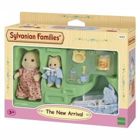Corredo per Bebè + 2 Personaggi (Sylvanian Families)
