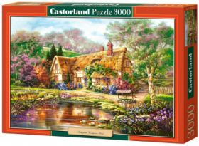 Twilight at Woodgreen Pond (Puzzle 3000 pezzi Castorland)