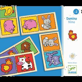 Domino-Nimo Gioco da Tavolo DJECO su ARSLUDICA.com