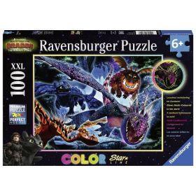 Puzzle 100 pezzi XXL Ravensburger Dragons