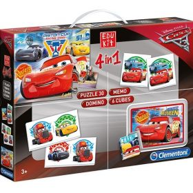 Edukit 4 in 1 Cars 3 (Gioco Educativo Clementoni)