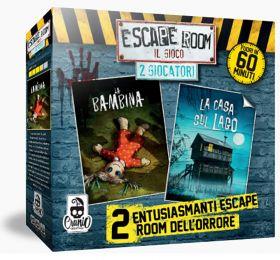 Escape Room - 2 Giocatori Horror   Gioco da Tavolo