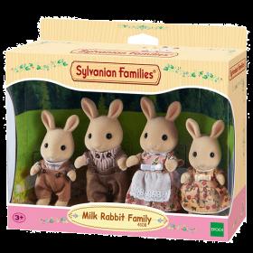 Famiglia Conigli Latte (Sylvanian Families)