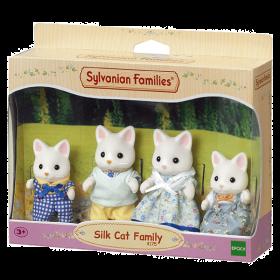 Famiglia Gatti Silk (Sylvanian Families)