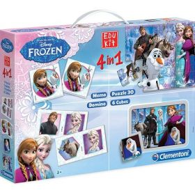 EduKit 4 in 1 Frozen (Gioco Clementoni)