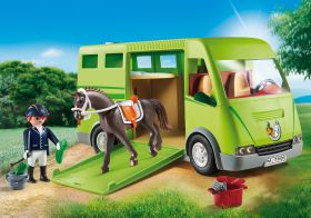 Furgone Trasporto Cavalli Playmobil Country 6928 su ARSLUDICA.com