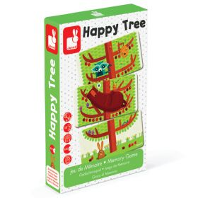Gioco di Memoria Happy Tree (Gioco Formativo Janod) su ARSLUDICA.com