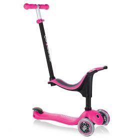 GLOBBER MONOPATTINO GO UP Sporty Deep Pink