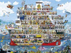 Puzzle 1500 Pezzi Heye Cruise Lyon | Puzzle Composizione
