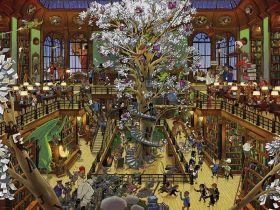 Puzzle 1500 Pezzi Heye Library Oesterle | Puzzle Composizione