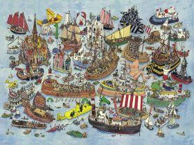Puzzle 1500 Pezzi Heye Regatta Adolfsson | Puzzle Composizione