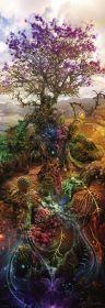 Puzzle 1000 Pezzi Heye Panorama Phosphorus Tree Enigma Trees | Puzzle Fantasy