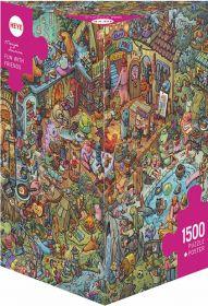 Puzzle 1500 Pezzi Heye Fun With Friends Tiurina | Puzzle Composizione - Confezione