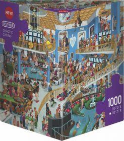 Puzzle 1000 Pezzi Heye Garden Chaotic Casino Oesterle| Puzzle Composizione - Confezione