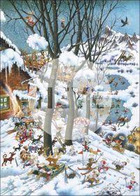 Puzzle 1000 Pezzi Heye Paradise In Winter Ryba | Puzzle Composizione