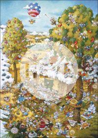 Puzzle 1000 Pezzi Heye Paradise In Summer Ryba | Puzzle Composizione