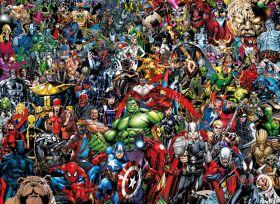 Puzzle Fantasy 1000 pezzi Clementoni Marvel Impossible Puzzle