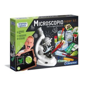 Microscopio Super Kit Scienza e Gioco (Gioco Clementoni)