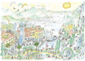 Puzzle Formiche 1000 pezzi Lago di Garda | Puzzle Fabio Vettori
