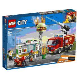 LEGO 60214 Fiamme al Burger Bar LEGO City su arsludica.com