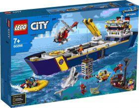 LEGO 60266 Nave da Esplorazione Oceanica LEGO City su arsludica.com