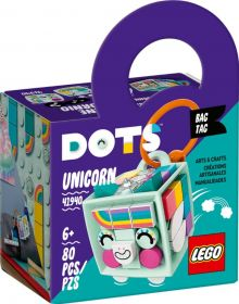 LEGO 41940 Bag Tag Unicorno   LEGO DOTS