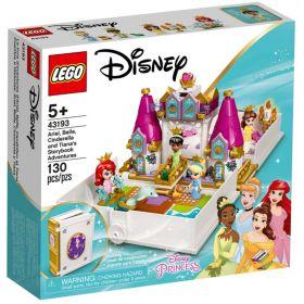 LEGO 43193 L' Avventura Fiabesca di Ariel, Belle, Cenerentola e Tiana   LEGO Disney