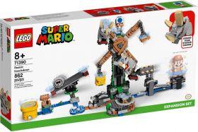 LEGO 71390 Reznor Knockdown   LEGO Super Mario