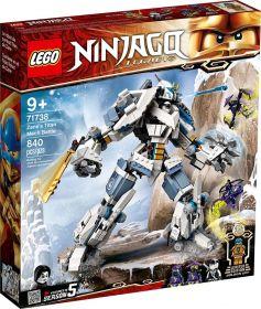 LEGO 71738 Mech Titano da Battaglia di Zane | LEGO Ninjago