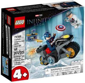 LEGO 76189 Scontro Tra Captain America E Hydra | LEGO Super Heroes