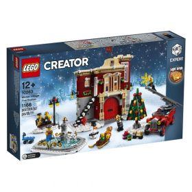 LEGO 10263 Caserma dei Pompieri del Villaggio Invernale (LEGO Creator)