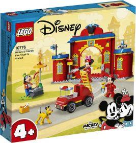 LEGO 10776 Caserma dei Pompieri e Fuoristrada Antincendio di Topolino e i Suoi Amici | LEGO Disney