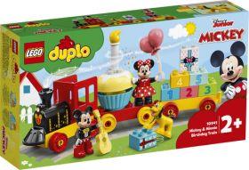 LEGO 10941 Il treno del compleanno di Topolino e Minnie | LEGO DUPLO Disney