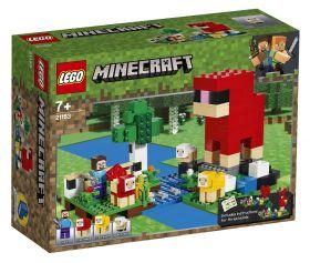 LEGO 21153 La Fattoria della Lana (LEGO Minecraft) su ARSLUDICA.com
