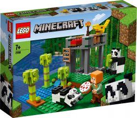 LEGO 21158 L'allevamento di panda LEGO Minecraft su ARSLUDICA.com
