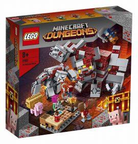 LEGO 21163 La Battaglia della Pietrarossa LEGO Minecraft su ARSLUDICA.com
