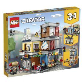 LEGO 31097 Negozio degli Animali & Café (LEGO Creator) su ARSLUDICA.com