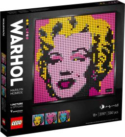 LEGO 31197 Mosaico Marilyn Monroe LEGO Mosaics su arsludica.com