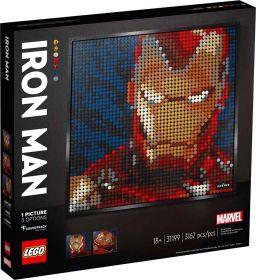 LEGO 31199 Mosaico Ironman | LEGO Art