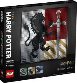 LEGO 31201 Mosaico Harry Potter Hogwarts Crests | LEGO ART