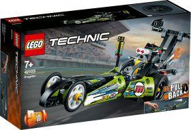 LEGO 42103 Dragster LEGO Technic su ARSLUDICA.com