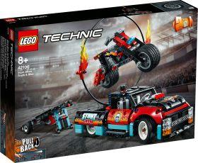 LEGO 42106 Truck e Moto dello Stunt Show LEGO Technic su ARSLUDICA.com