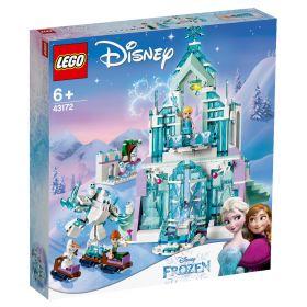 LEGO 43172 Il Magico Castello di Ghiaccio di Elsa (LEGO Disney) su ARSLUDICA.com