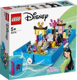 LEGO 43174 Il Libro delle Fiabe di Mulan LEGO Disney Princess su ARSLUDICA.com