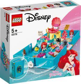 LEGO 43176 Il Libro delle Fiabe di Ariel LEGO Disney Princess su ARSLUDICA.com